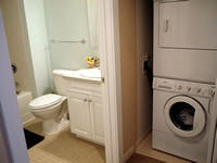 2nd bath / washer dryer