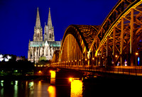 Miva Stock_2837 - Germany, Cologne, Bridge, Cathedral